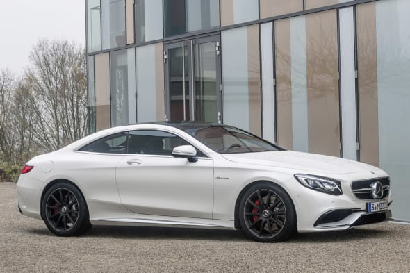 Mercedes-Benz S 63 AMG Coupé  (C 217) 2014; designo diamantweiß bright;designo diamond white bright