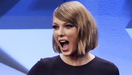 So erlebte Taylor Swift die Grabsch-Attacke