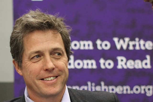 British actor and 'Hacked off' campaigner Hugh Grant