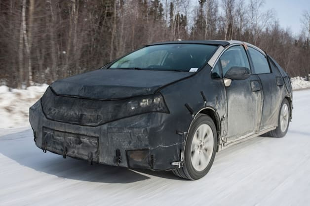 2015 toyota fuel cell sedan cold weather testing