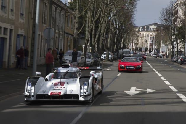 Audi R18 in Le Mans