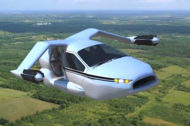 Terrafugia Flying Car Hybrid