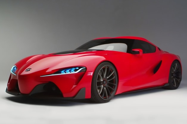 Toyota Ft 1 Hints At Supra More Aggressive Hybrids