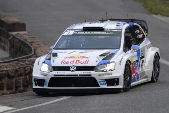 Sébastien Ogier (F), Julien Ingrassia (F)Volkswagen Polo R WRC (2014)WRC Rally France 2014