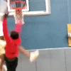 High school kid throws down completely vicious dunk
