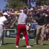 Steph Curry danced 'The Carlton' on a golf course