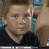 Kid at CWS has epic staring contest with camera