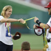 Katie Ledecky gets Bryce Harper to do her a favor