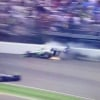 Indy 500 racer crashes into wall at full speed