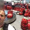 Olympians go through stressful baggage experience