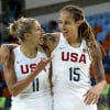 US women's basketball rout Japan to reach semifinals