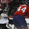 Brooks Orpik takes cheap shot at Olli Maata