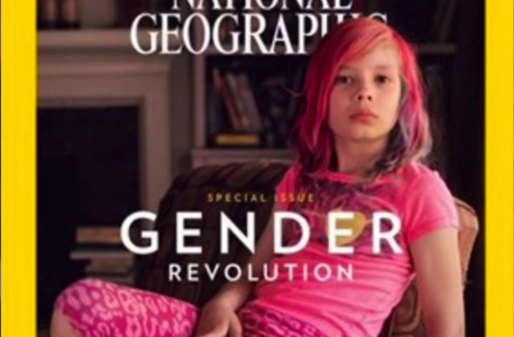 Year old girl becomes first transgender to be on the cover of