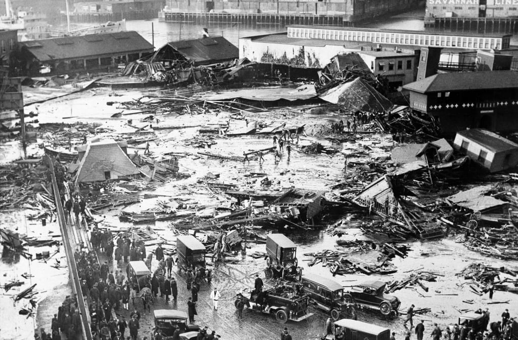 Why was the Boston Molasses Flood of 1919 so deadly?