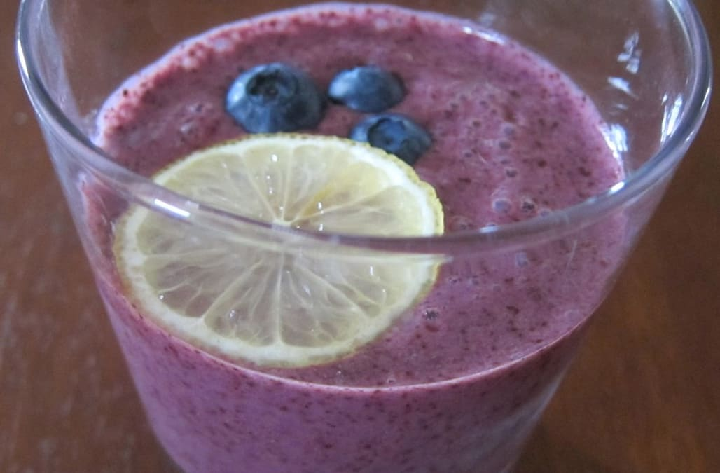 Blueberry Lemon Ginger Smoothie - AOL.com