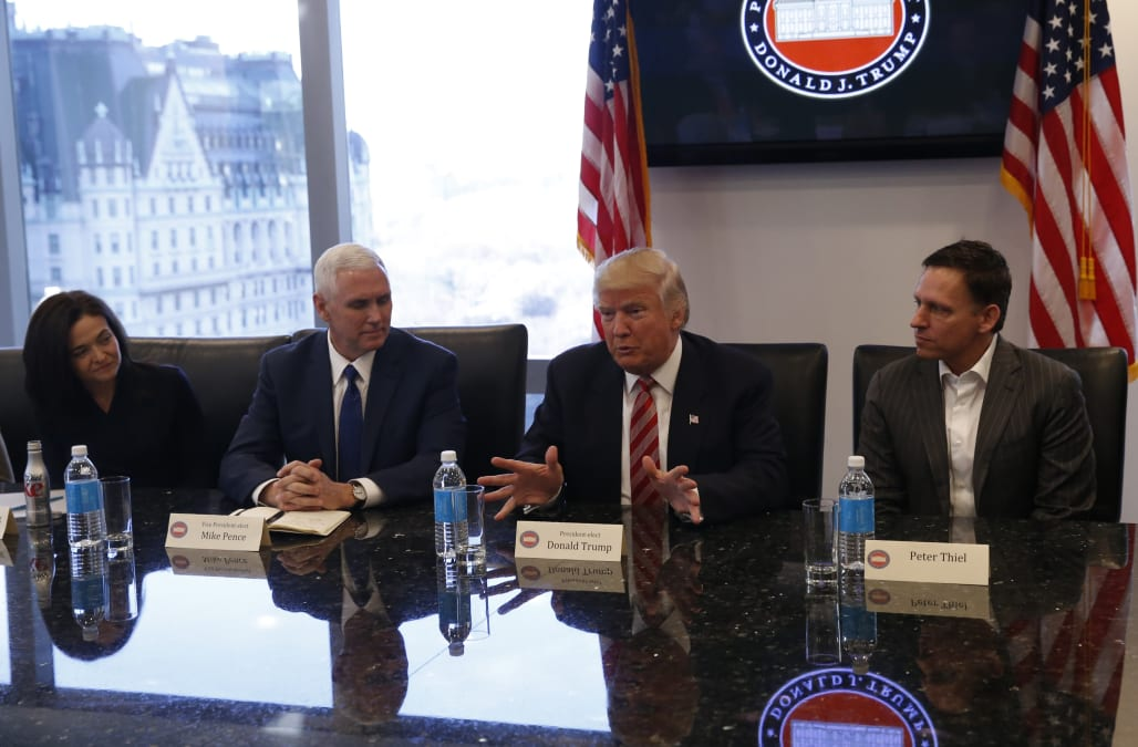 rss.cnn.com The hidden symbolism in how tech leaders were seated in their  meeting with Trump