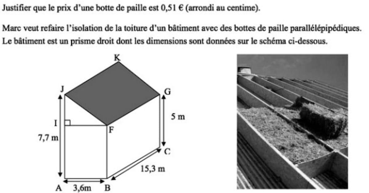 Brevet de mathématiques 2014 : l'exercice 7 déconcerte des ...