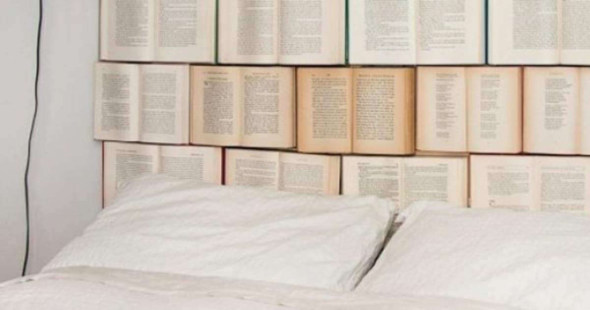 Decorar con libros ideas fotos - Libros para decorar ...