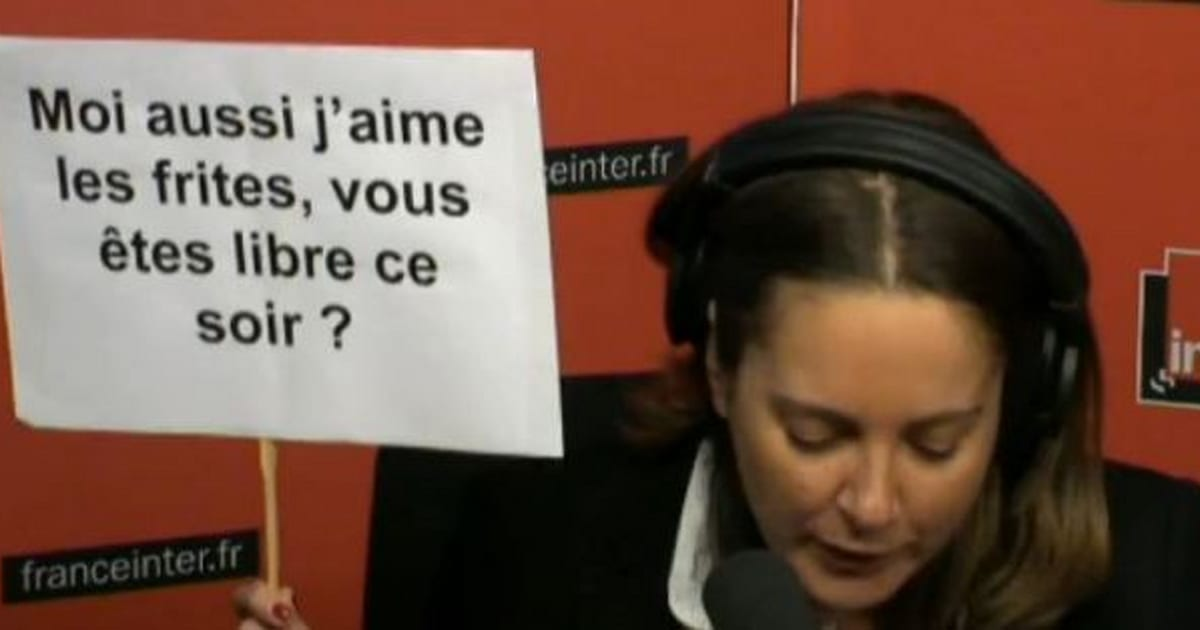 Vid o sur france inter fran ois hollande se fait chroniquer en pancartes par charline vanhoenacker - Charline vanhoenacker vie privee ...
