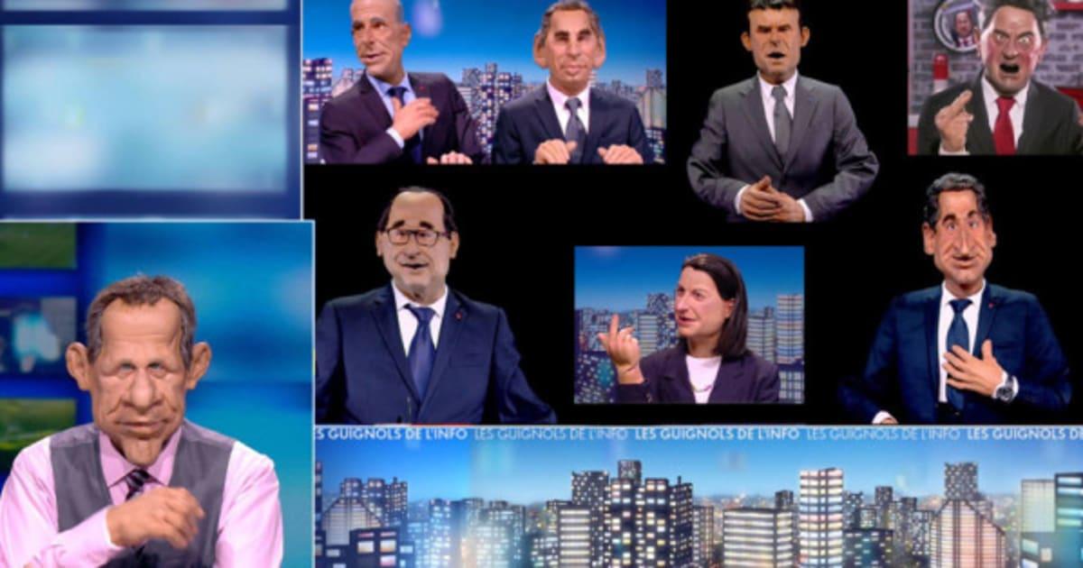 Les guignols canal licencie les auteurs historiques du programme satirique - Charline vanhoenacker vie privee ...