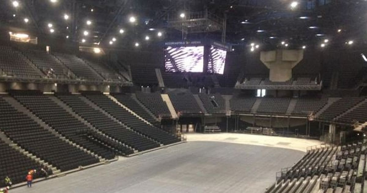 Photos l 39 accorhotels arena le nouveau paris bercy for Interieur u arena