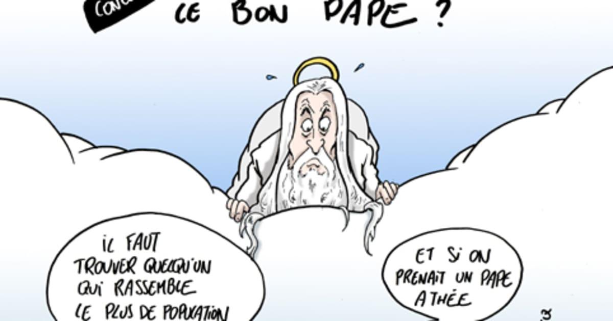 Qui doit plaire le nouveau pape - Charline vanhoenacker vie privee ...