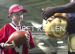 9-year-old cancer patient plays QB for Notre Dame