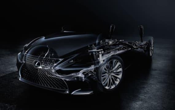 LEXUS、デトロイトモーターショーで新型LSを世界初公開