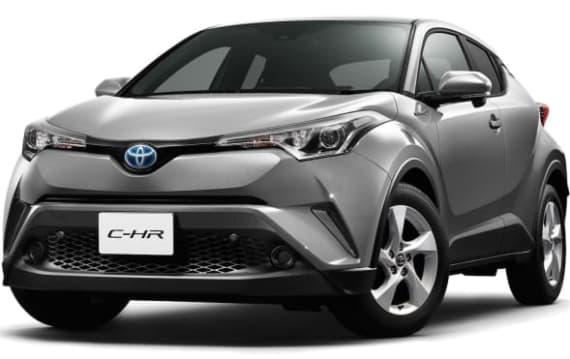トヨタ、新型車C-HRの日本仕様の概要を初公開し、11月上旬より先行商談受付開始