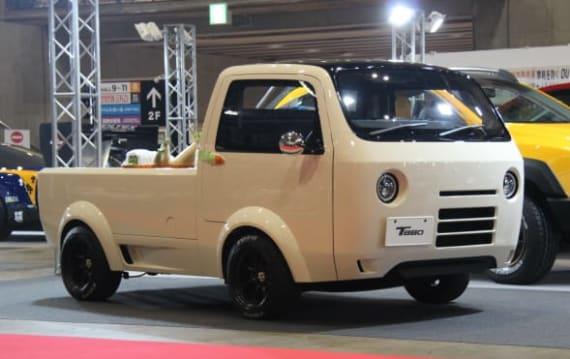 【東京オートサロン2017】謎のモデルT880、抜群のボディワークで軽トラをカッコよく:工藤貴宏
