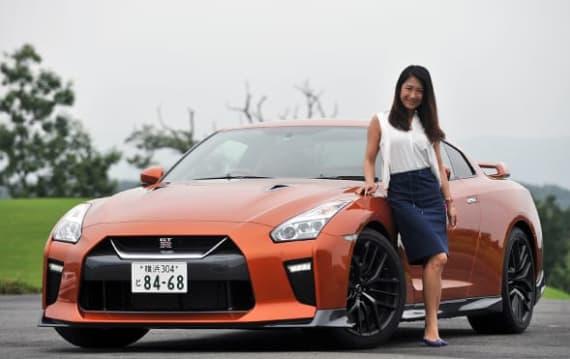 【試乗記】日産 GT-R 、歴代初めて女性にも乗って欲しくなるくらいのエレガントな仕上がり:今井優杏