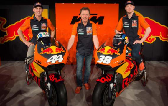 KTMが3クラス全てファクトリー体制で、本格的に「MotoGP」に参戦