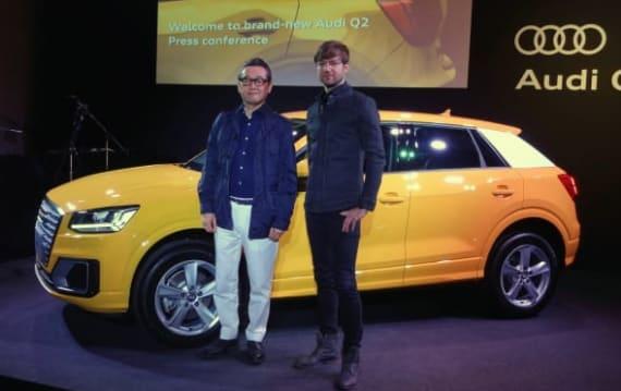 Audi Q2、デザイン スタイル要素「ポリゴン」を採用したコンパクトSUVを発表