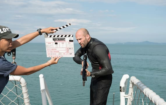 最強すぎる大スター、ジェイソン・ステイサムがアクションの極意を教えてくれる! 超クールなインタビュー映像到着