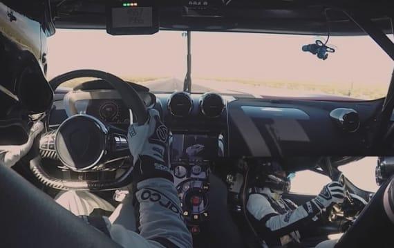 【ビデオ】450km/hオーバーで走行する気分が味わえる! ケーニグセグが「アゲーラRS」最速記録挑戦の新たな映像を公開