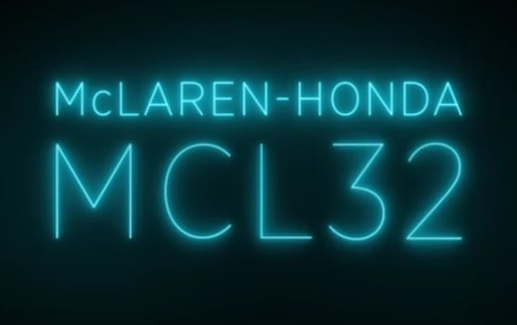 マクラーレン・ホンダ、今夜20時より新型F1マシン「MCL32」の発表会をインターネット配信!