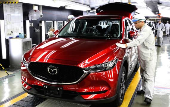 マツダ、新型「マツダ CX-5」の生産を開始