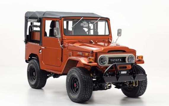 子供の頃の夢を現実に! 新車同様にレストアされた1972年型トヨタ「ランドクルーザー FJ40」