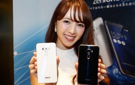 格安スマホ離れした高級感が魅力─「ZenFone 3」は3.9万円で10月7日発売。6GB RAMの「Deluxe」も