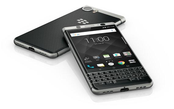 待望のQWERTYキー搭載!BlackBerry KEYone発表。Android 7.1採用、4月発売
