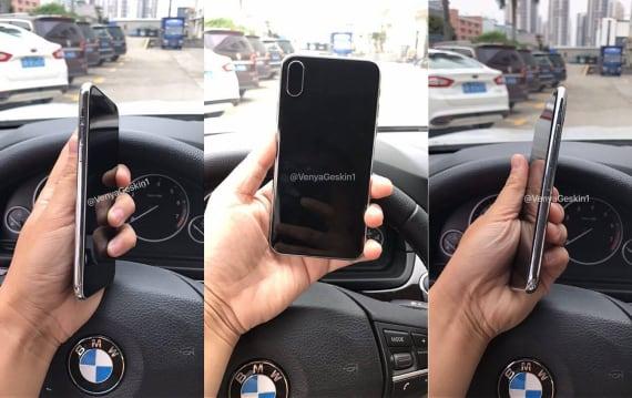 次期iPhoneダミーモデルの写真が出回る。内部配置図に「A11」の文字、Touch IDはやはりディスプレイ埋め込みか