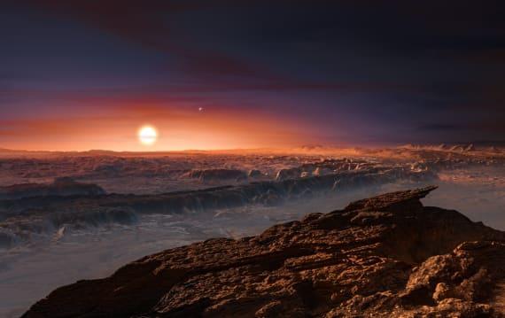 地球からたった4.2光年の惑星プロキシマb、これまでで最も地球に似た星と確認。探査機送る計画も