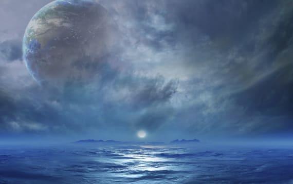生命が存在できる惑星のほとんどに陸地がないという予測結果。地球の陸海バランスはかなりのレアケースと判明