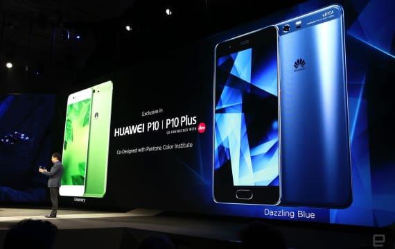 ファーウェイP10発表。ライカ2眼カメラが進化、P10 Plusは5.5インチWQHDの上位版