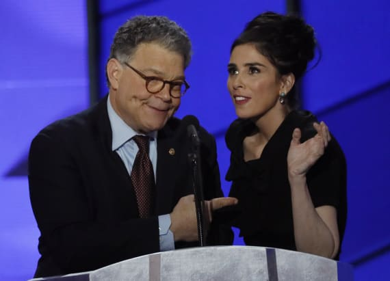 Sarah Silverman slames Bernie supporters at DNC
