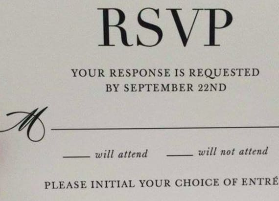 This wedding invitation is unintentionally hilarious