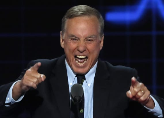Howard Dean reprises his infamous scream