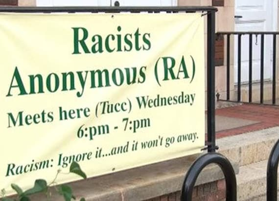 Church starting to host Racists Anonymous meetings