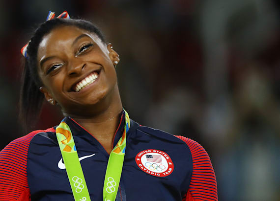 Simone Biles reveals who she wants to meet