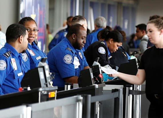 Security stepped up at US airports for holiday